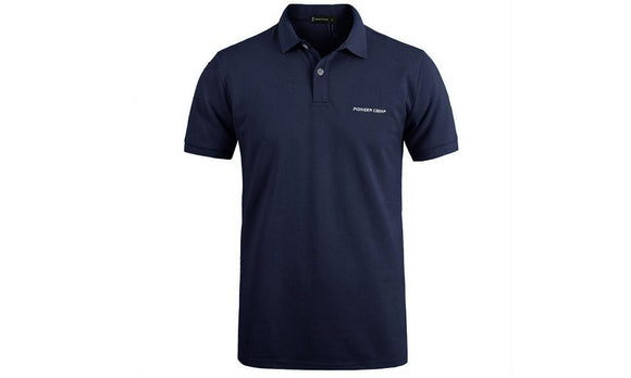 Casual solid Short Sleeve Breathable Polo T-shirt For Men