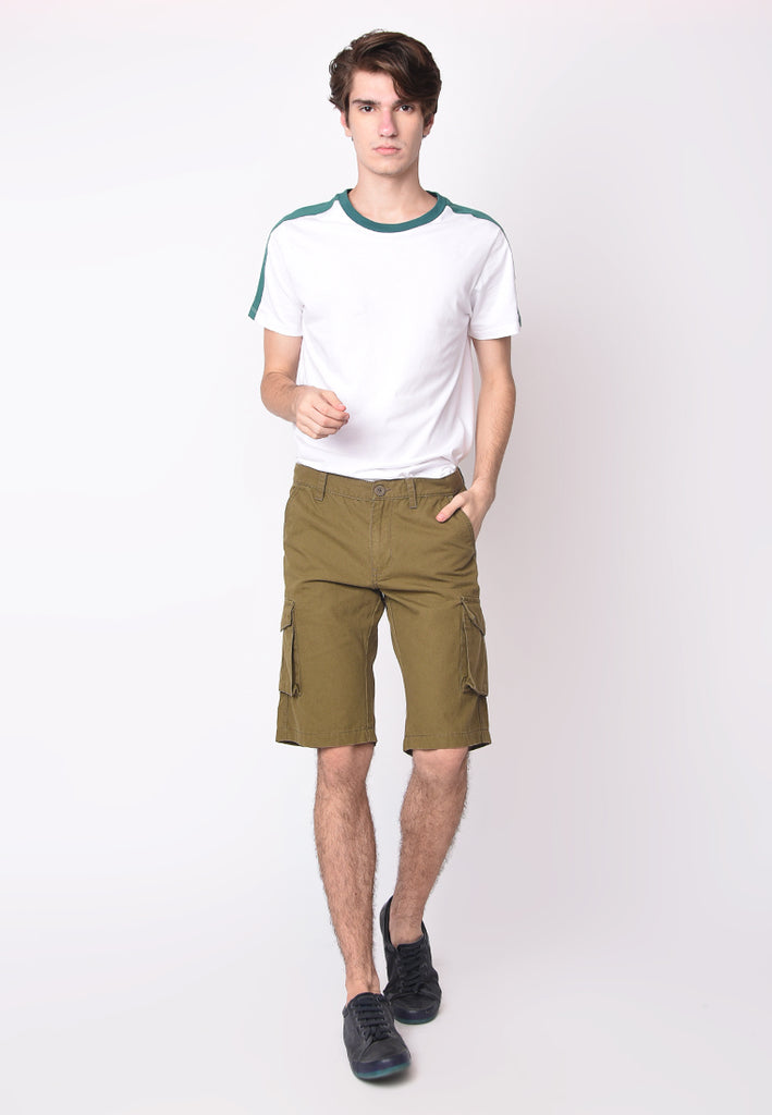 Cargo Short in Olive