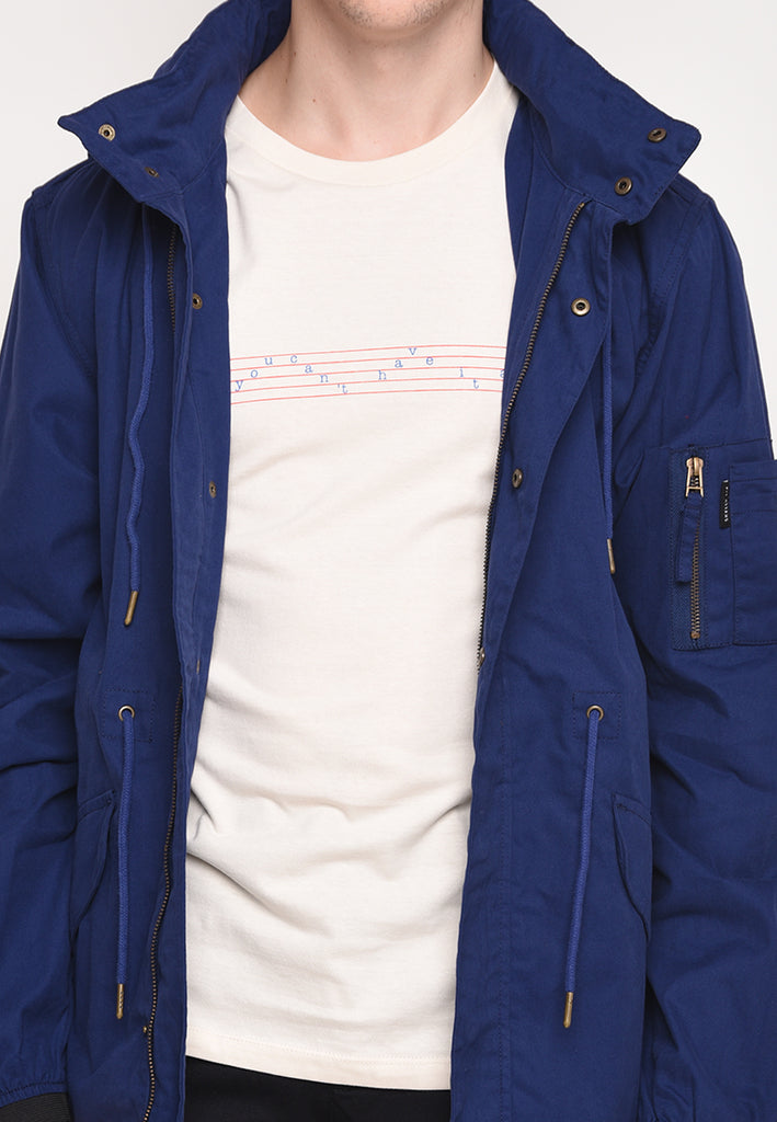 Skelly Topmod Parka Classic Premium in Navy