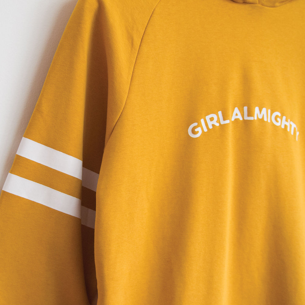 Girl Almighty NY Hoods LS in Yellow
