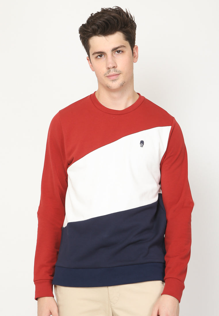 Royale Mod Sweatshirt in Multi Color