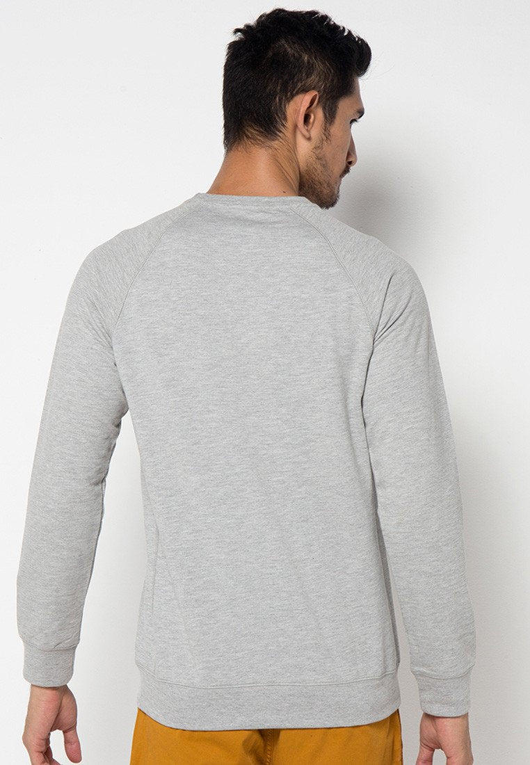 Royal Guard MMIX Pullovers in Heather Grey - Skelly Indonesia - The Original Graphic Tees, Comfortable Basic - www.skellyshop.co.uk