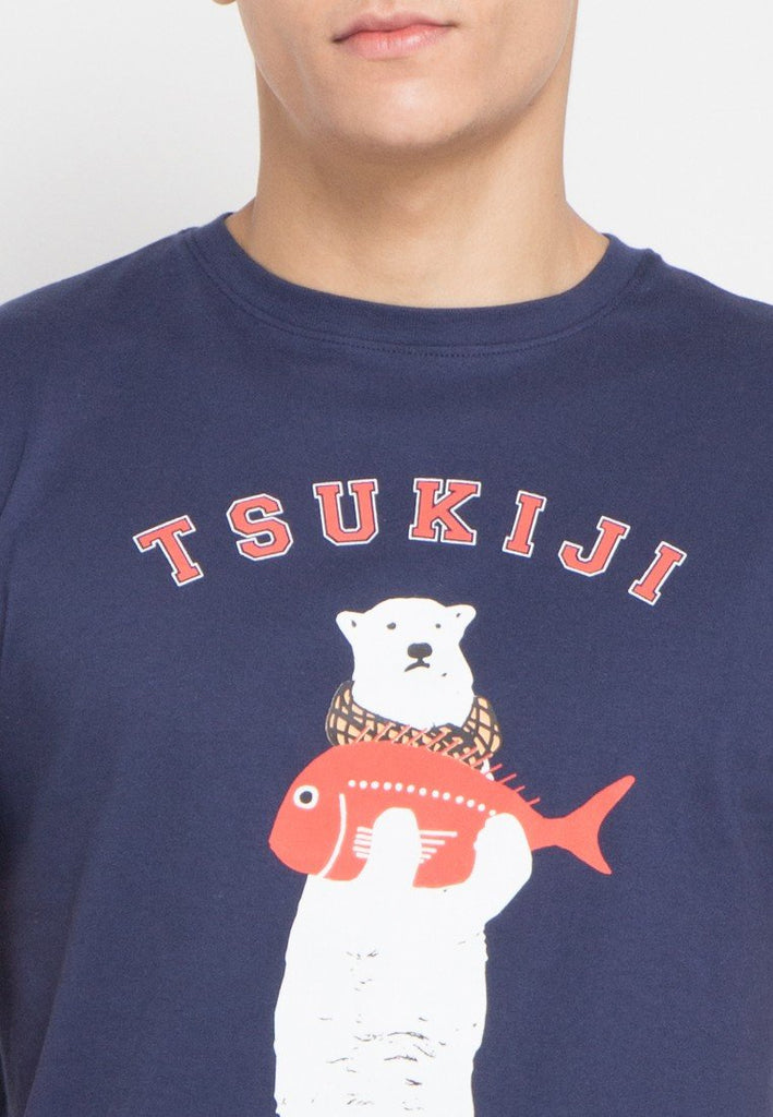 Tsukifish Graphic T-shirt - Skelly Indonesia - The Original Graphic Tees, Comfortable Basic - www.skellyshop.co.uk