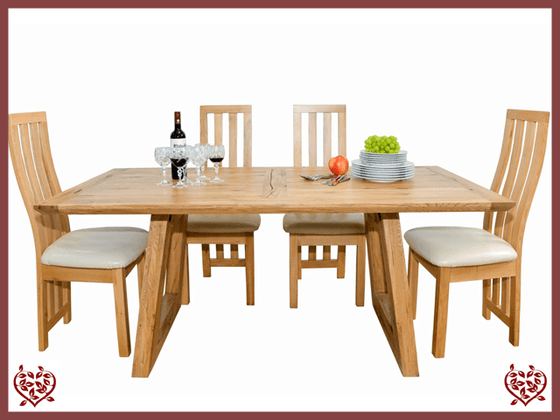 ARTISAN OAK 1.8M TABLE - paul-martyn-furniture
