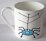 Spider 1 pint bone china mug