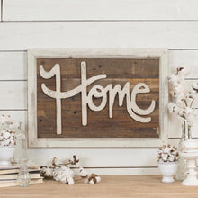 "Chippy Paint Rustic ""Home"" Wall Decor"