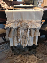 Handmade Vintage Inspired Two-Tone Table / Bed Runner