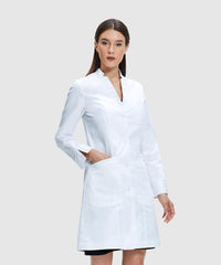 womens lab coats by style