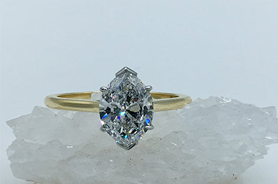 Diamond Marquise Solitaire
