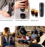 Luxury Portable Espresso Machine Capsule