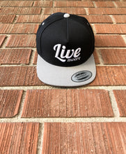 Grey Snapback Live Moore Hat