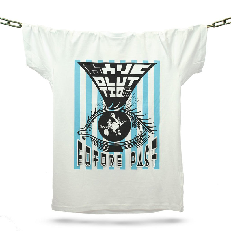 Raveolution Eye T-Shirt / White - Future Past Clothing