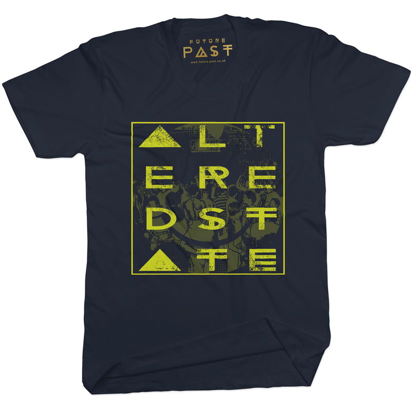 Altered State T-Shirt / Black - Future Past Clothing