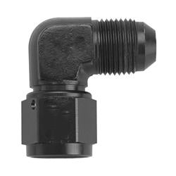 -3AN Female to Male 90 Adapter - Black