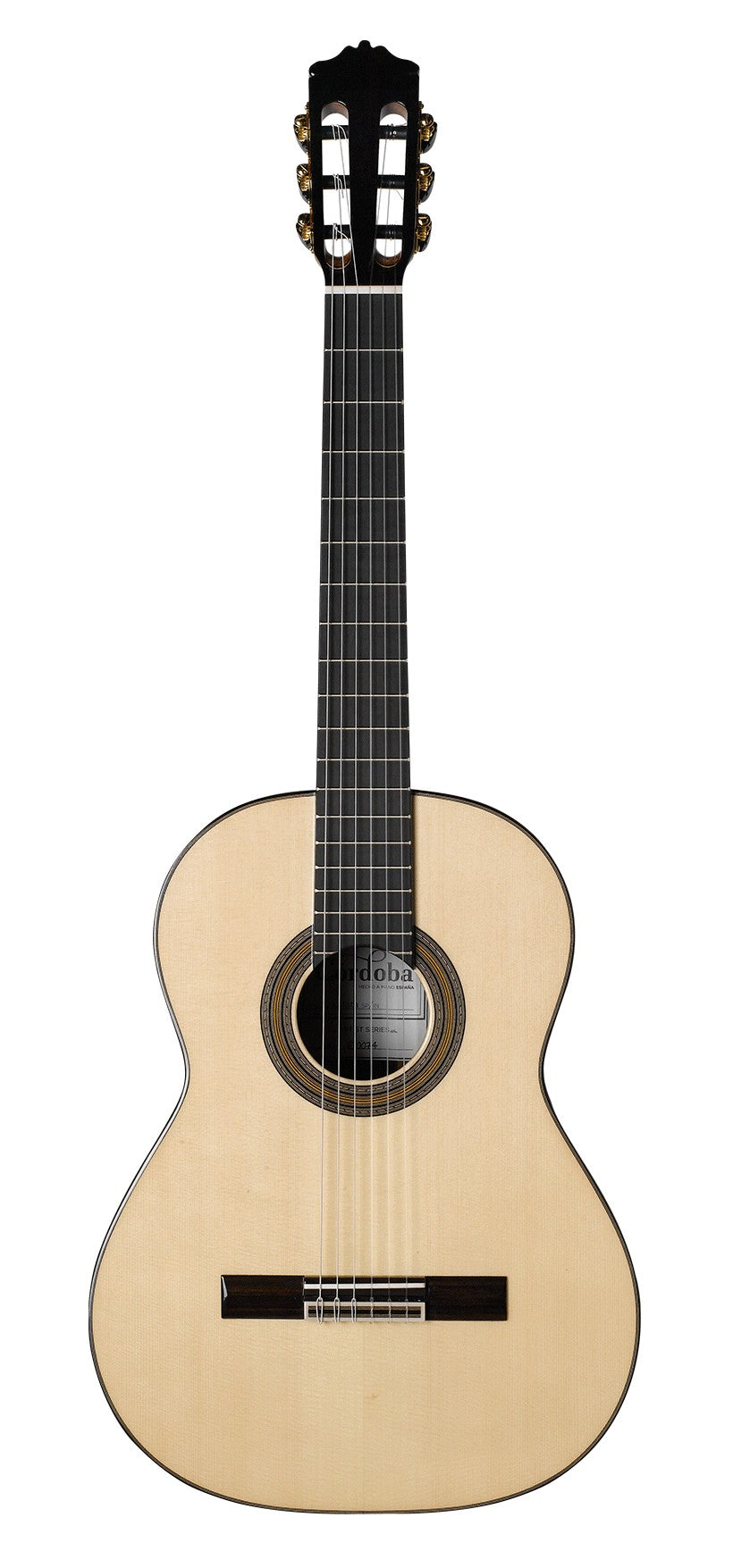 Cordoba Solista SP All Solid Spruce/Rosewood Nylon String Acoustic Guitar
