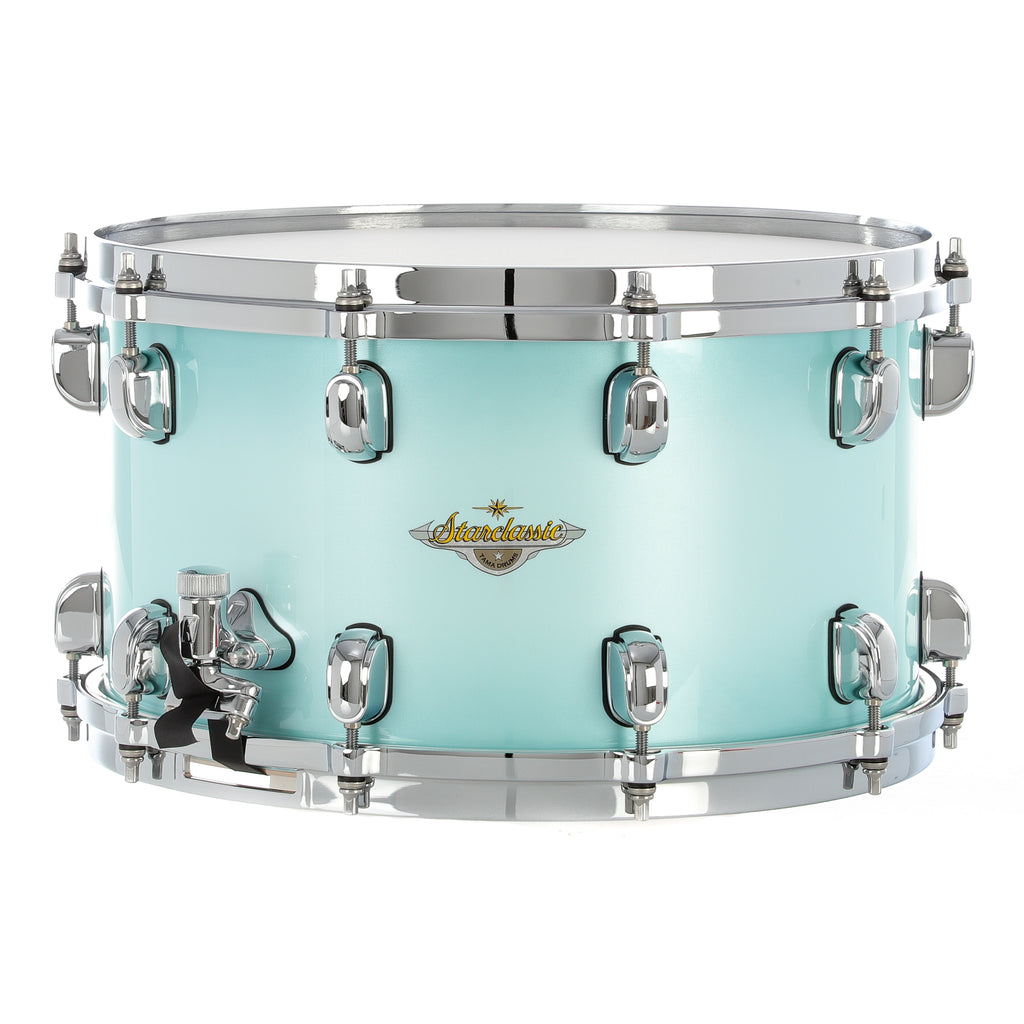 "Tama 14""x8"" Starclassic Maple Snare Drum - Light Jade Burst"
