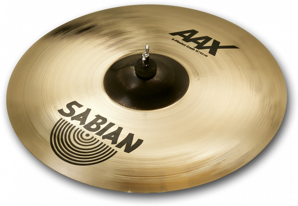 "Sabian 18"" AAX X-Plosion Crash Cymbal - Brilliant Finish"