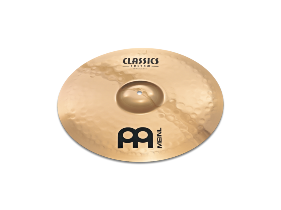 "Meinl 15"" Classics Custom Medium Crash Cymbal"
