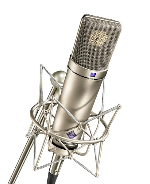 Neumann U 87 AI Multi-Pattern Condenser Microphone W/ EA87 Shockmounts and Mic Briefcase - Nickel Stereo Pair