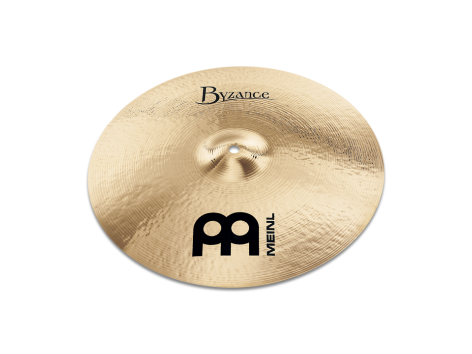 "Meinl 16"" Byzance Brilliant Medium Thin Crash Cymbal"