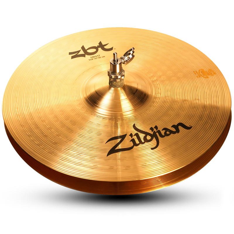 "Zildjian 14"" ZBT Hi-Hat Cymbal Bottom"