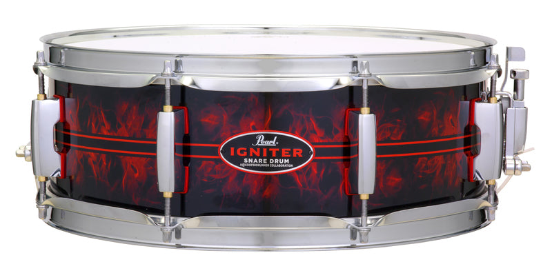 "Pearl 14""x5"" Casey Cooper Igniter Collaboration Snare Drum"
