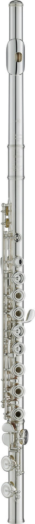 Yamaha YFL-587HCT Flute, Silver Plated