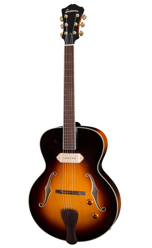 Eastman AR405E-SB Archtop Electric Guitar - Rosewood Fingerboard, Sunburst
