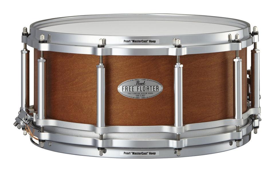 "Pearl 14"" x 6.5"" Maple/Mahogany Free Floating Snare Drum"