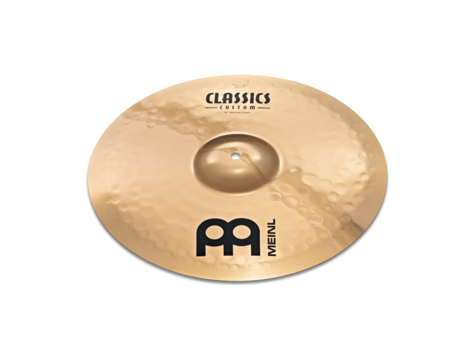 "Meinl 16"" Classics Custom Medium Crash Cymbal"