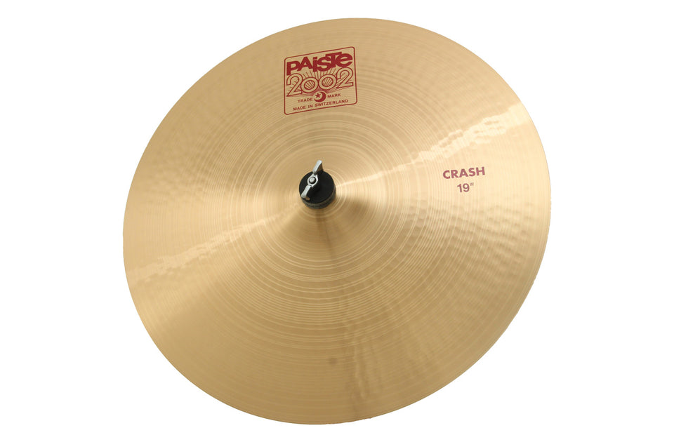 "Paiste 19"" 2002 Crash Cymbal"