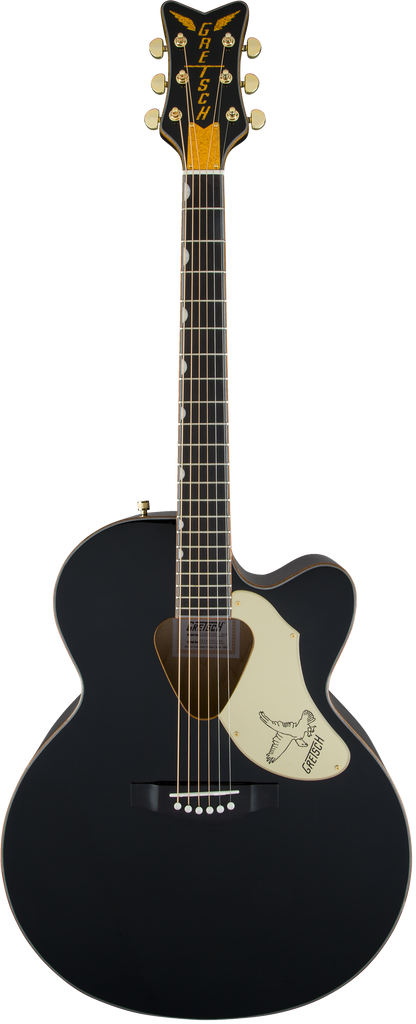 Gretsch G5022CBFE Rancher Falcon Jumbo Acoustic Electric Guitar - Black