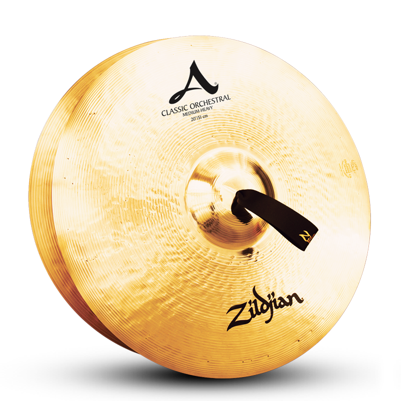 "Zildjian 20"" A Classic Orchestral Selection Medium Heavy Cymbals - Pair"