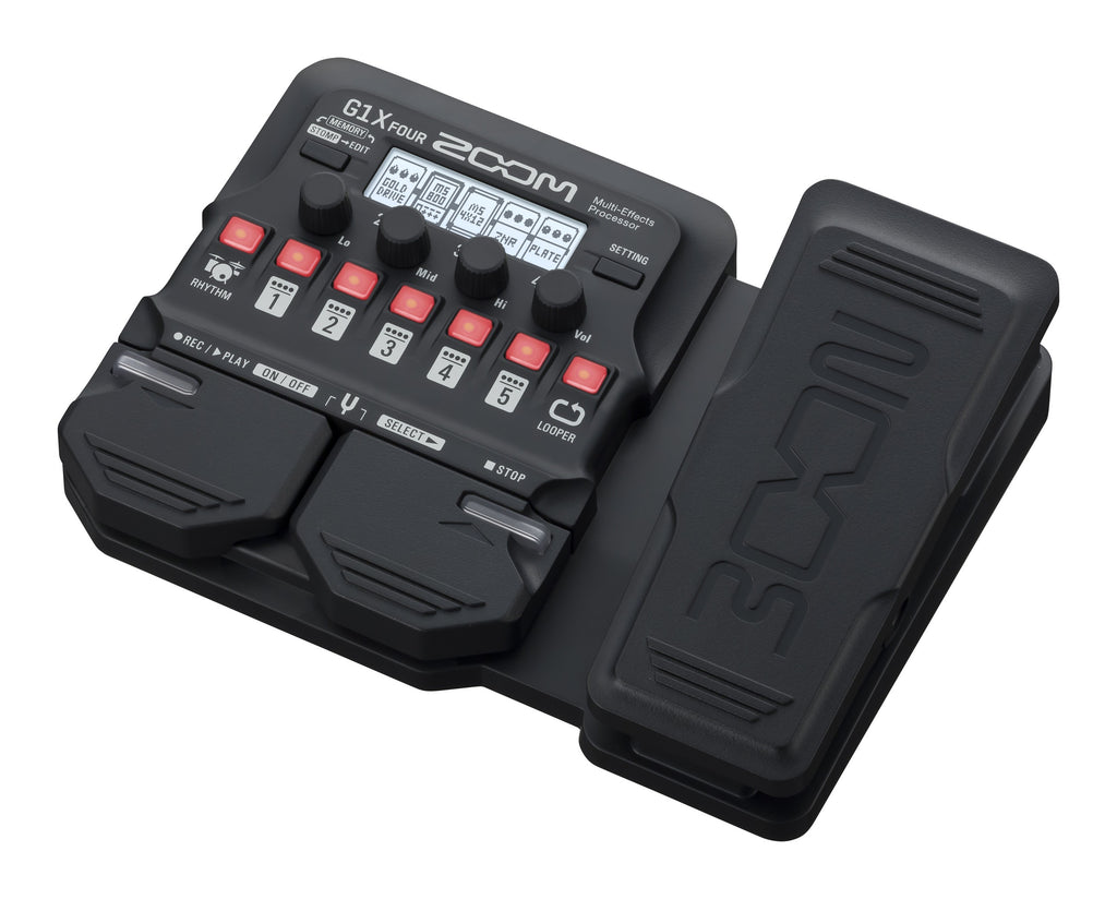 Zoom G1x Four Multi-Effects Guitar Pedal w/Expression