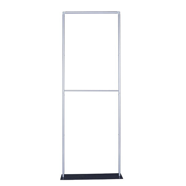 Explora Tubular Banner Stand w/ Dye-sub Fabric Graphic, 33.5