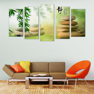 "5 Pieces Decorative 3D Painting ""Feng Shui Influences"""