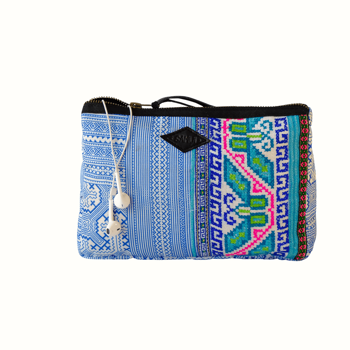 Samui Bags Ocean Breeze Pouch Handmade Thai Bag