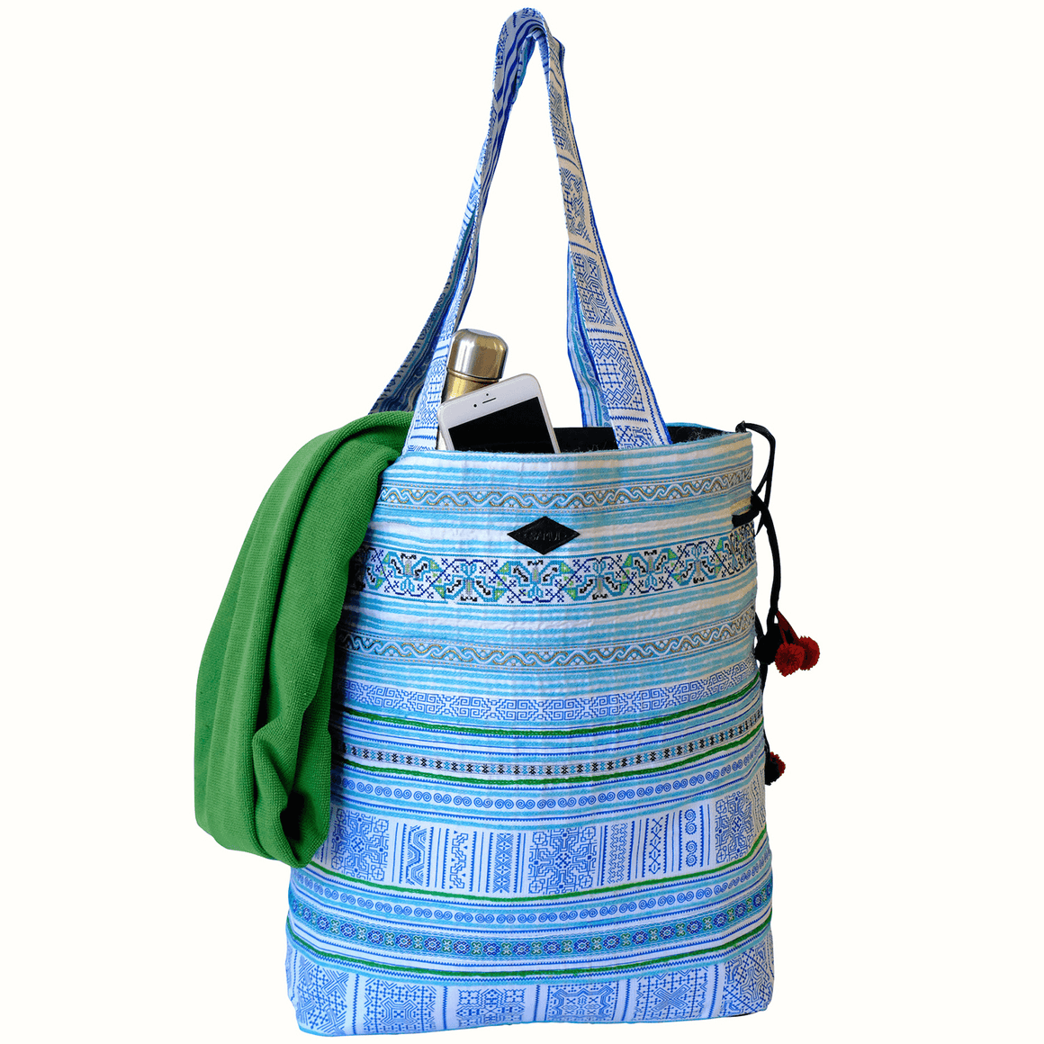 Samui Bags Ocean Breeze Weekender Bag Handmade Thai Bag