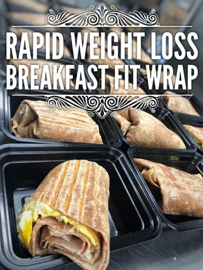 RAPID WEIGHT LOSS Breakfast wrap with salsa