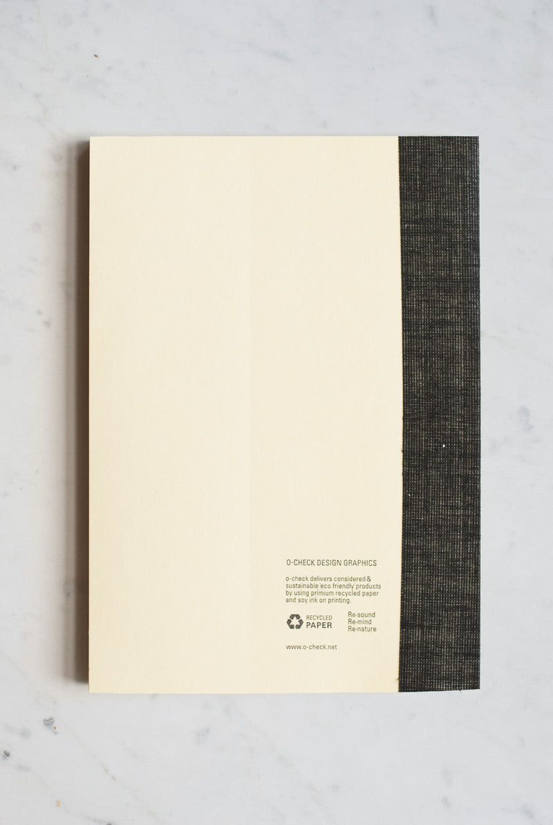 O-Check Design Graphics - Travel Diary with Pocket