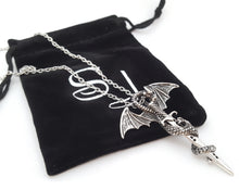 Dragon Sword Necklace inspired by Game of Thrones