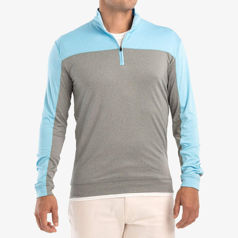 Johnnie O Carve Light Weight PREP-FORMANCE 1/4 Zip Pullover