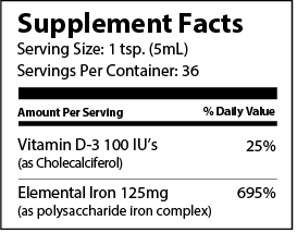 NovaFerrum Liquid Iron supplements