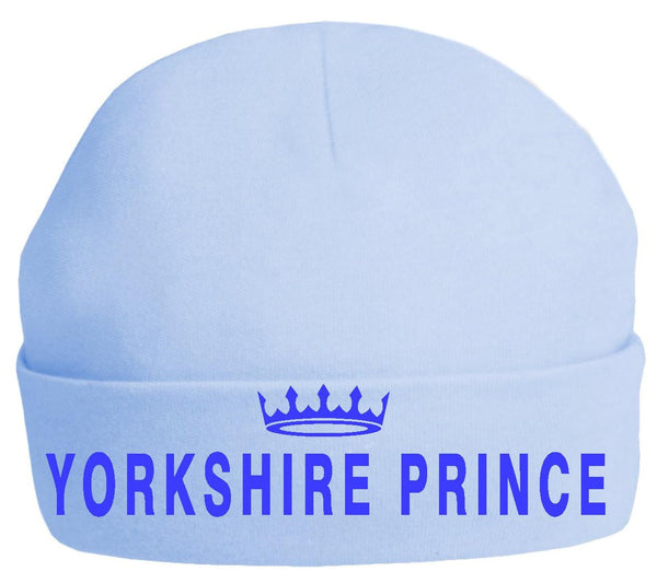 Yorkshire Prince and Princess Baby Beanies