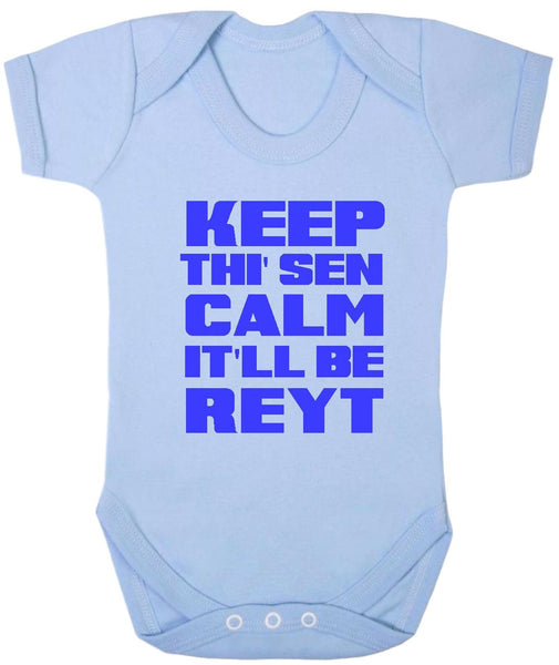Keep Thi Sen Calm Baby Bodysuit