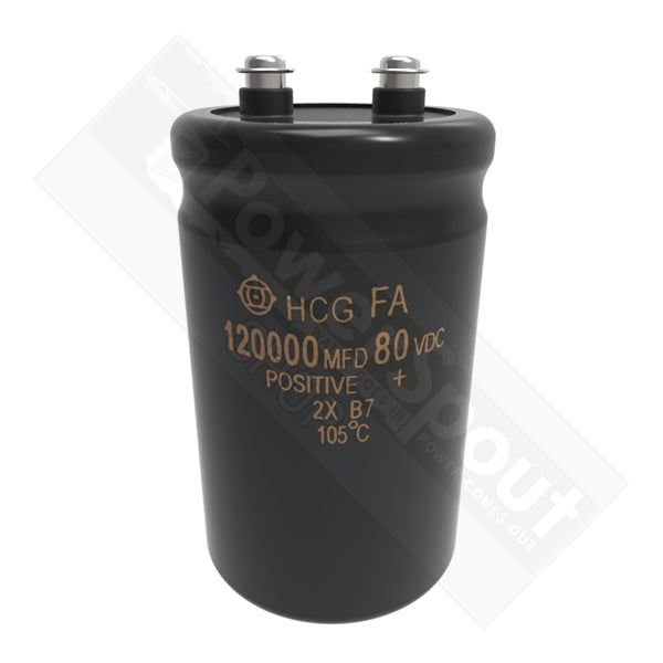 Large Stabilisation Capacitor