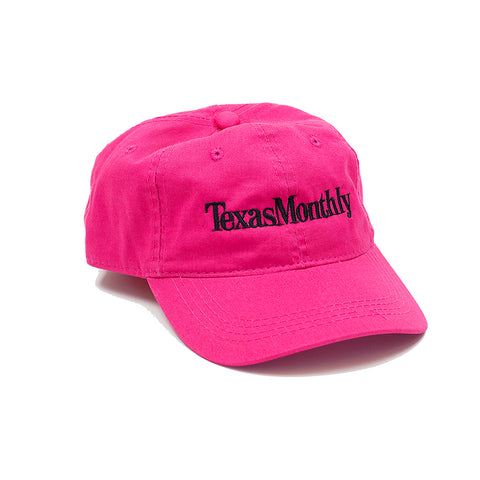 Texas Monthly Cap - Pink