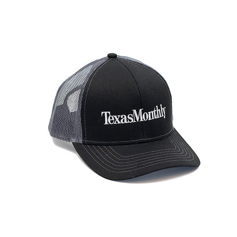 Texas Monthly Baseball Hat – Charcoal