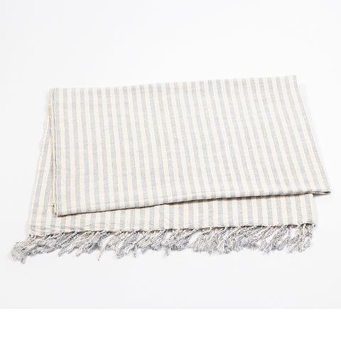 Sinoh Handwoven Turkish Towel – Grey