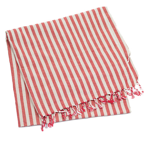 Sinoh Handwoven Turkish Towel – Crimson